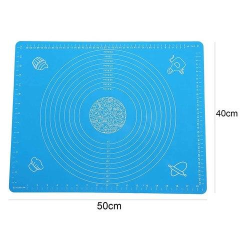 Силиконовый коврик для теста 70 х 70 см