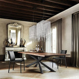 Обеденный стол spyder wood, Италия