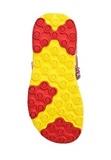Босоножки Минни Маус (Minnie Mouse) на липучке открытые для девочек, цвет красный желтый. Изображение 6 из 8.
