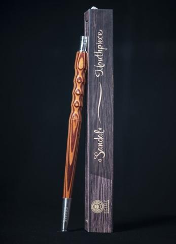 Деревянный мундштук для шланга кальяна - Estate Sandal (темный)