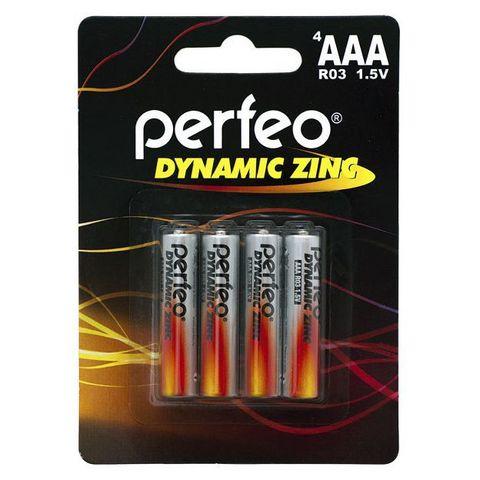 Батарейки Perfeo R03, AAA (4/120) BL