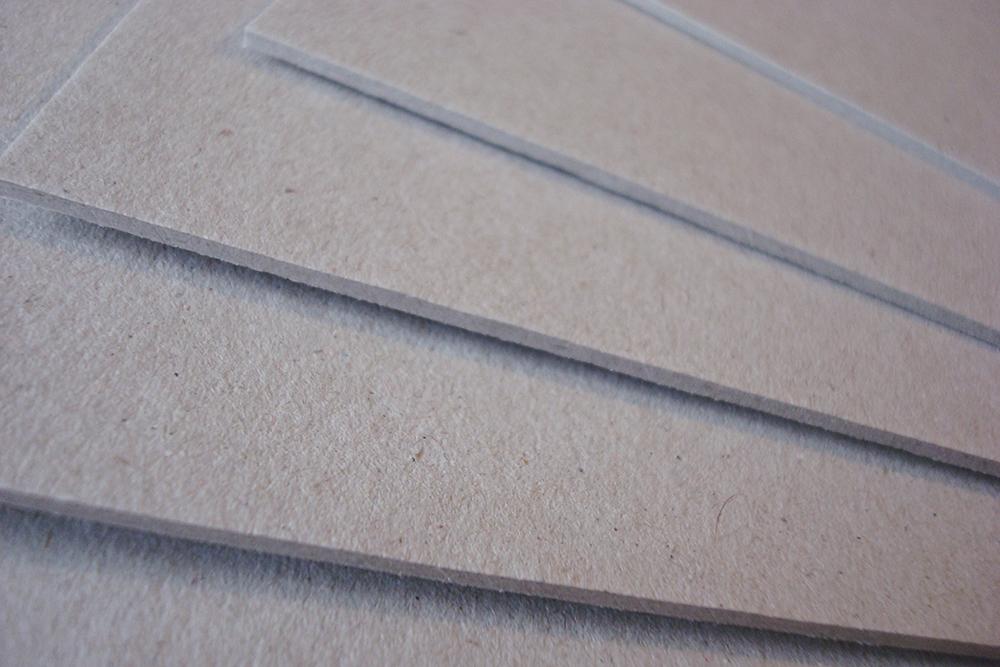 Картон для картонажа 2 мм 10х70 см