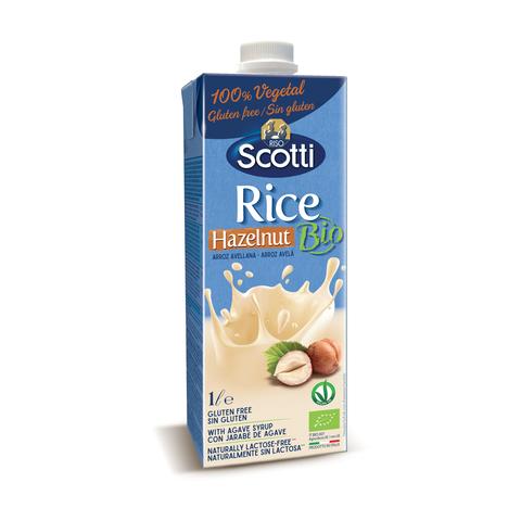 Органический рисовый напиток с лесным орехом 1л
