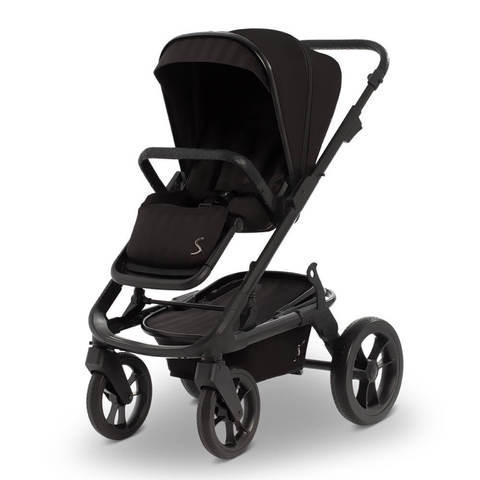 Коляска Moon Solitaire Black Black (555) 2020