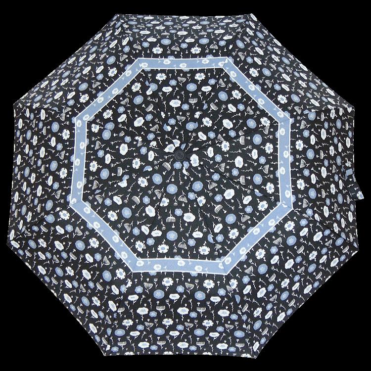 Зонт складной Perletti Technology 21653-2 Fiore bordo
