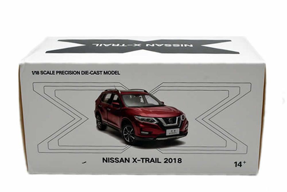 Коллекционная модель NISSAN X-TRAIL 2019-2020 BLUE