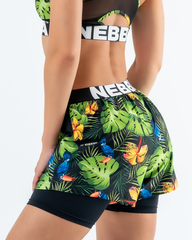 Шорты NEBBIA High-energy double layer shorts 563 SQ.green
