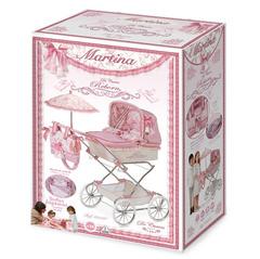 DeCuevas Коляска для куклы с сумкой и зонтиком серии