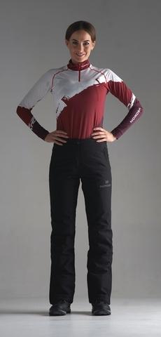 Утепленные брюки Nordski Pulse Black W женские