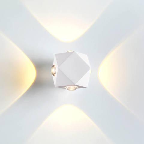 Настенный влагозащищенный LED светильник 4219/8WL серии DIAMANTA