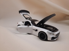 Металлическая Машина Mercedes Benz AMG белая