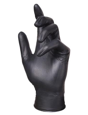 Adele косметические нитриловые перчатки чёрные р. XS (100 штук - 50 пар)