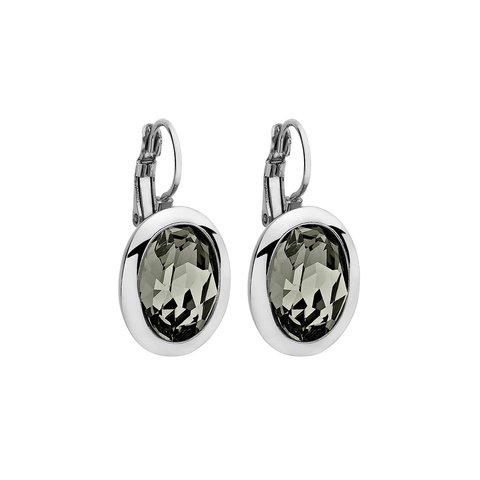 Серьги Tivola Black diamond 303030 BW/S