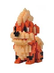 Конструктор Wisehawk & LNO Покемон Гроулит 373 детали NO. 234 Growlithe Pokemon Gift Series