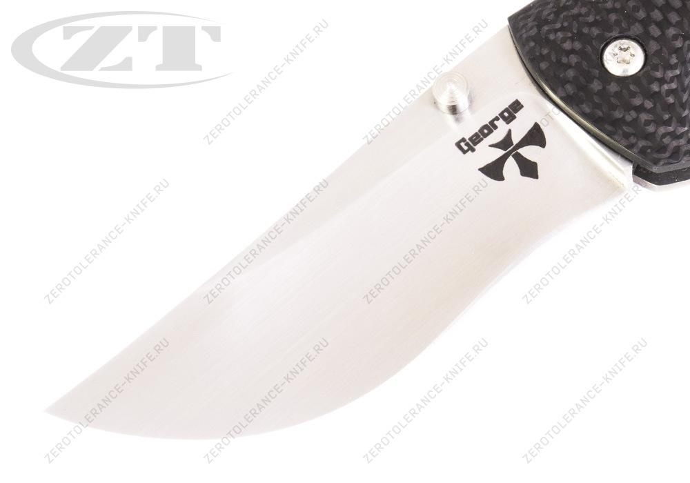 Нож Hydra Ti Custom Les George - фотография