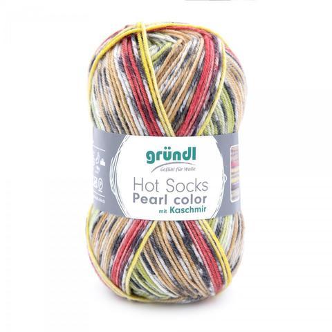 Gruendl Hot Socks Pearl Color 01 купить www.knit-socks.ru