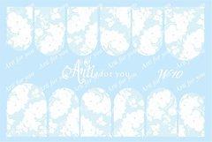 Слайдер наклейки Arti for you цвет белый №W10