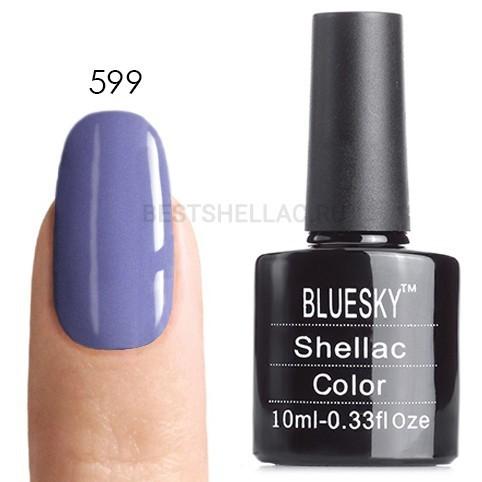 Bluesky Shellac 40501/80501 Гель-лак Bluesky № 40599/80599 Wisteria Haze, 10 мл 599.jpg
