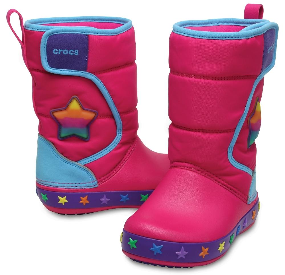 Сапоги для девочек CROCS