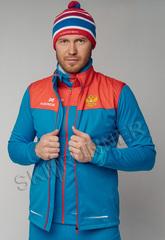 Элитный лыжный жилет Nordski Pro Rus