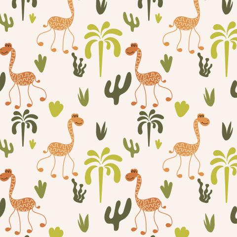Веселые жирафы