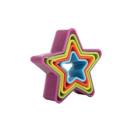 Набор форм для печенья «Звезда», 5шт.