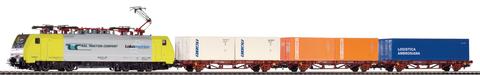 Стартовый набор «Грузовой состав RTC с электровозом BR189 и тремя контейнерами» FS