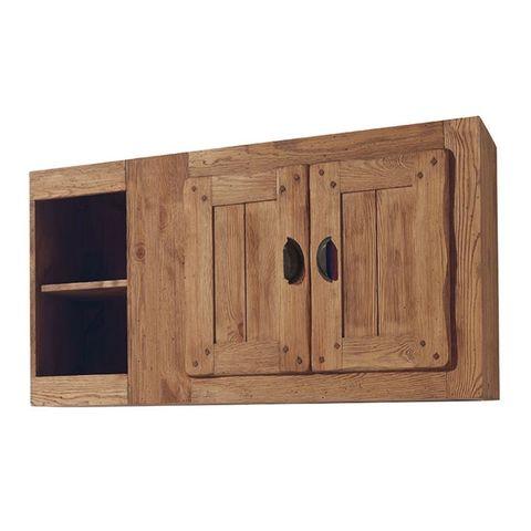 Шкаф навесной с нишей Галвей 120