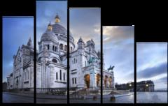 """Модульная картина """"Католический храм"""""""
