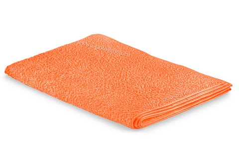 Простынь махровая (Оранжевый)