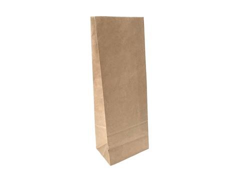 Пакет бумажный без ручек, 120х80х340 мм, крафт