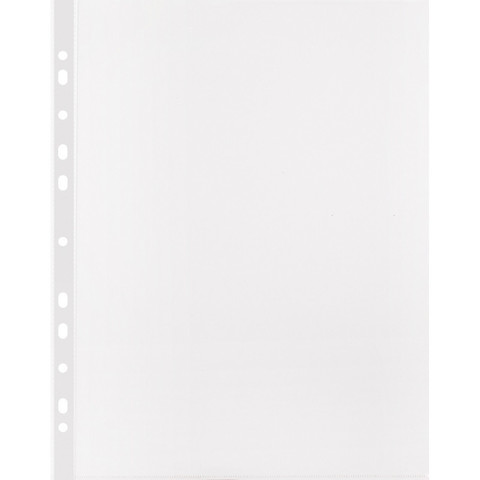 Файл-вкладыш Attache А4 25 мкм прозрачный рифленый 100 штук в упаковке