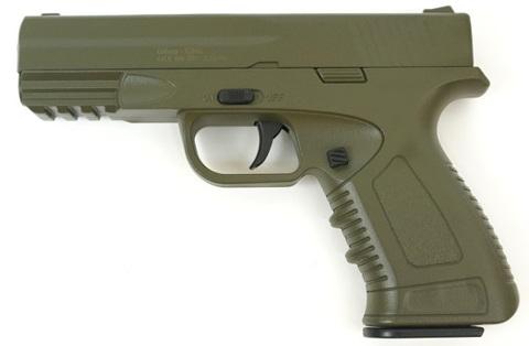 Страйкбольный пистолет Galaxy G.39G  H&K, металлический, пружинный