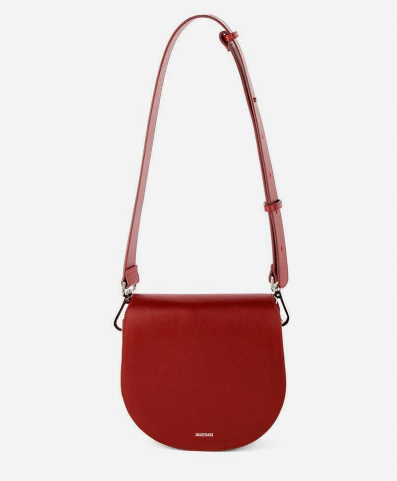сумка-полукруглая-бордо-кожаная