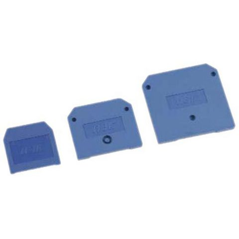 Заглушка для ЗНИ-2,5мм2 синяя TDM