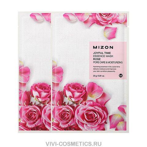 Маска с экстрактом розы MIZON