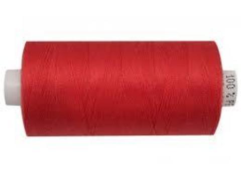 Нитки (катушка) красные, краповые