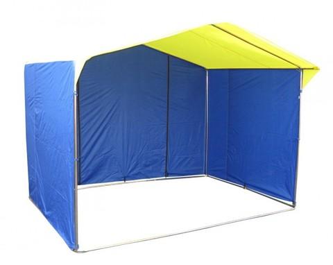 Торговая палатка «Домик» 3 х 3 К из квадратной трубы 20х20 мм, тент ПВХ