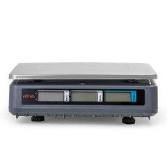 Весы торговые настольные АТОЛ МАРТА 15, RS232, USB, 15кг, 2гр, 320х230, с поверкой, без стойки
