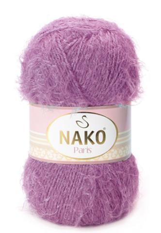Пряжа Nako Paris 6499 розово-фиолетовый