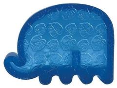 Игрушка для собак KONG Squeezz ZOO Слон малый 12х9 см