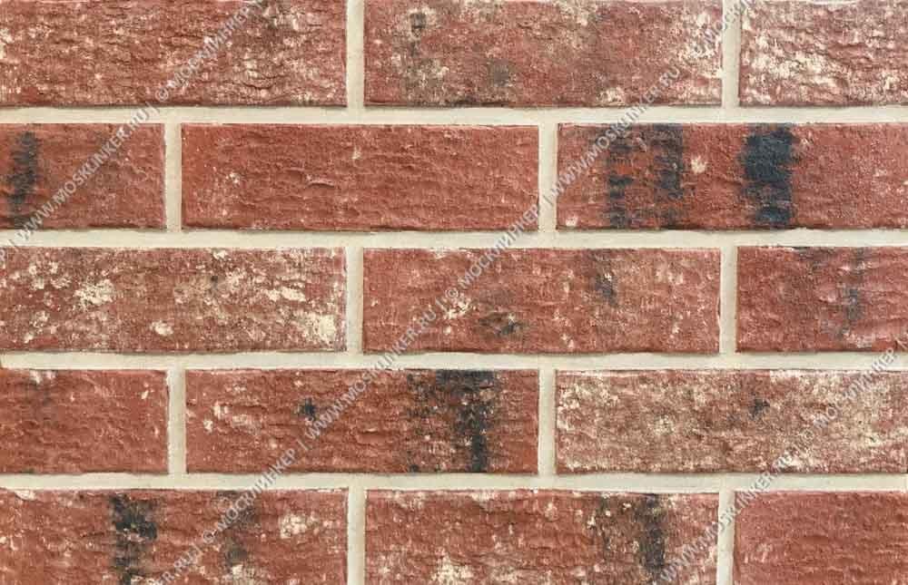 King Klinker - Red rock (HF12), Old Castle, 240x71x10, NF - Клинкерная плитка для фасада и внутренней отделки
