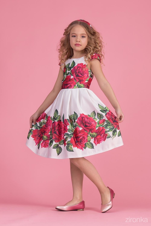 Платье для девочки 38-8002-5