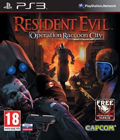 Resident Evil: Operation Raccoon City (PS3, русские субтитры)
