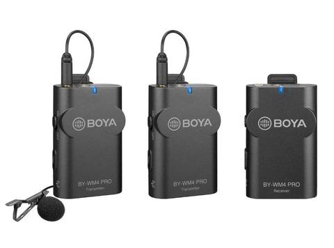 Радиомикрофон Boya BY-WM4 Pro-K2 черный
