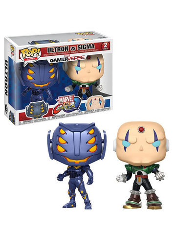 Фигурка Funko POP! Vinyl 2-Pack: Capcom vs. Marvel: Ultron vs Sigma 22779