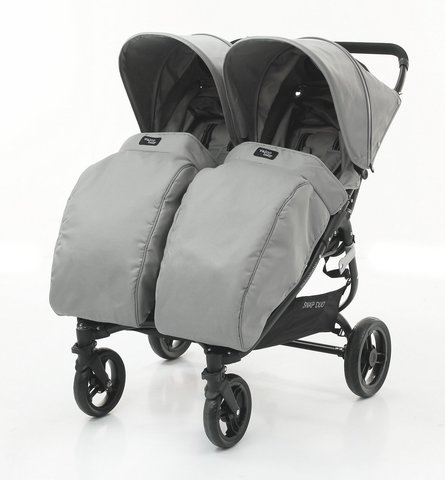 Накидка на ножки Valco baby Boot Cover Snap Duo / Cool Grey