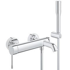 Смеситель для ванны с душевым набором Grohe Essence 33628001 фото