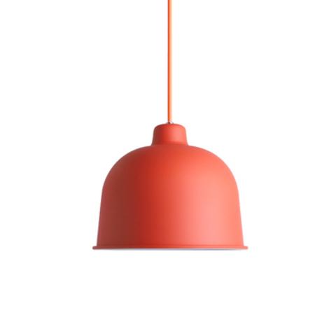 Подвесной светильник копия Grain by Muuto D21 (красный)