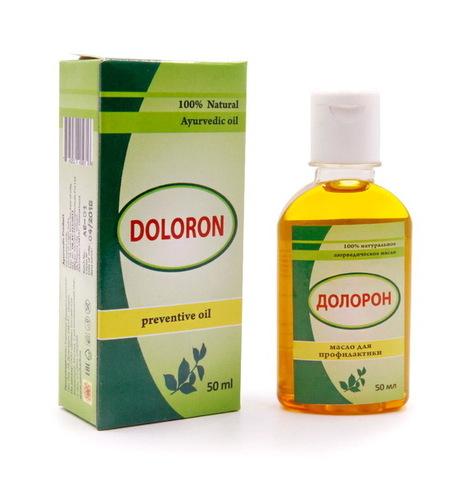Масло массажное от боли в суставах  Долорон (Doloron), 50 мг.